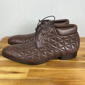 Mezlan Quilted Men's Chukka Boot Brown Men's 9.5